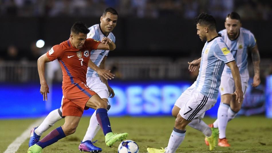 Chile vs. Argentina / Agencia Uno