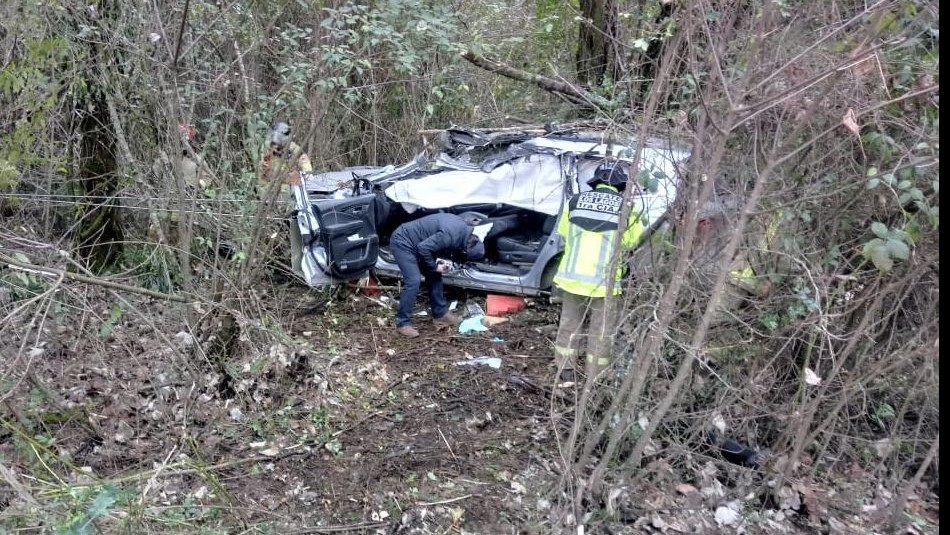 Diputado Rosas sufrió accidente de tránsito / Gentileza Noticias Panguipulli