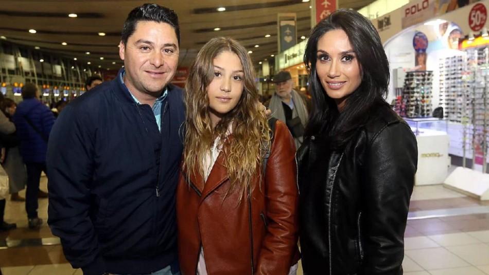 Manuel Neira, Trinidad Neira y Pamela Díaz / Las Últimas Noticias