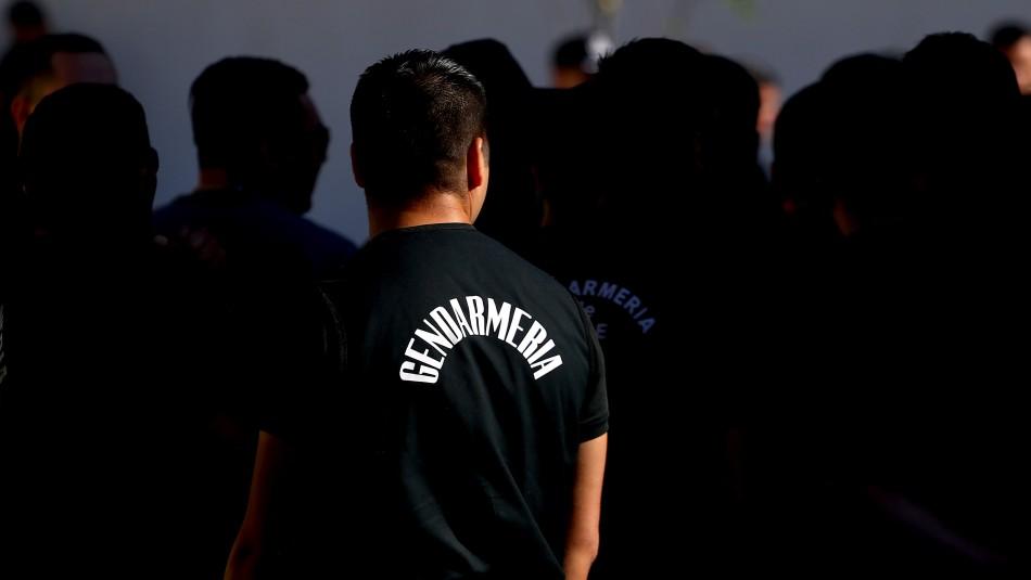 Cuatro funcionarios de Gendarmería son dados de baja por ingresar drogas a la cárcel