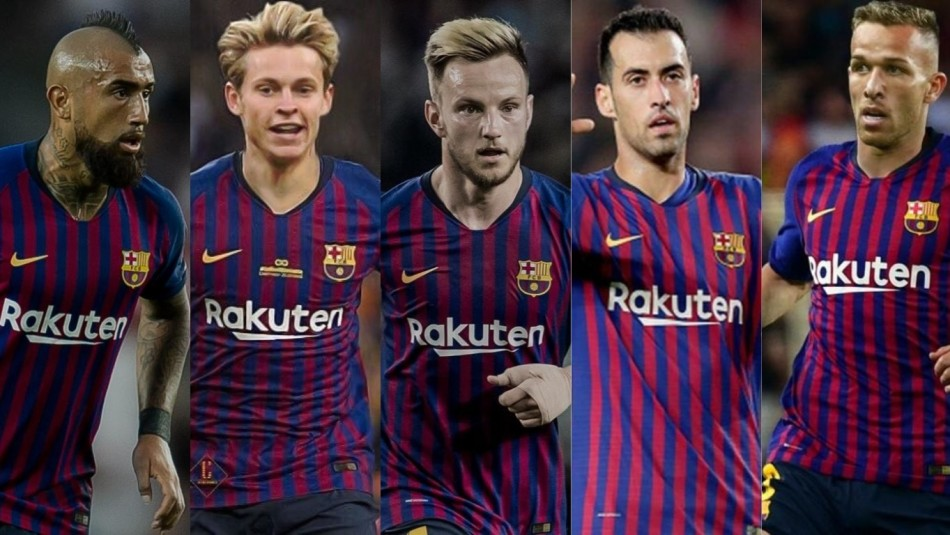 Barcelona se arma para la próxima temporada.