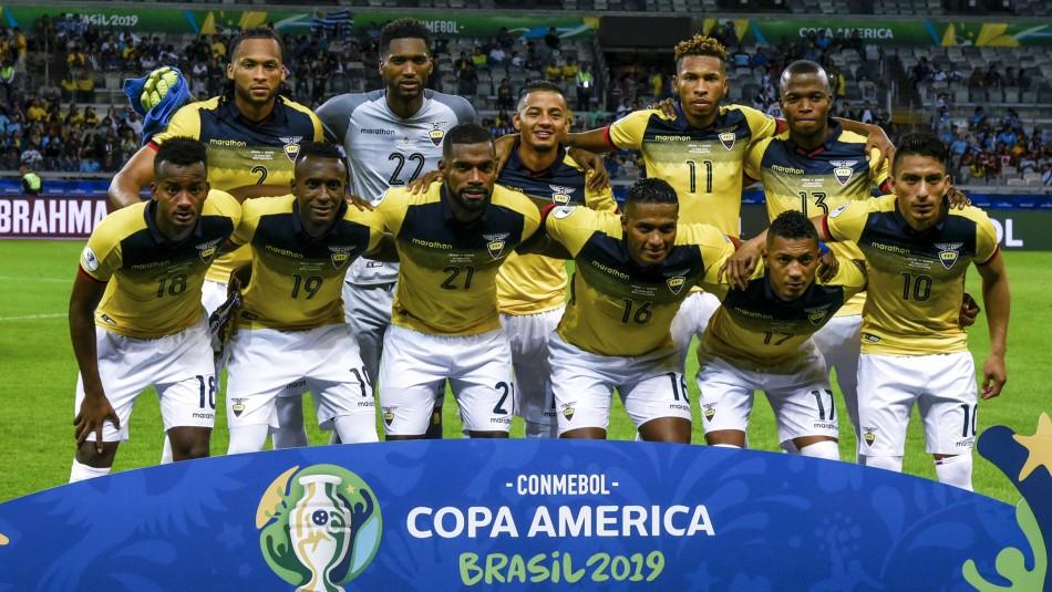 Selección de Ecuador / AgenciaUno.