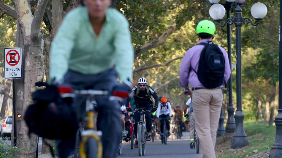 Providencia construirá ciclovía en Eliodoro Yáñez: Eliminarán una pista de la calle