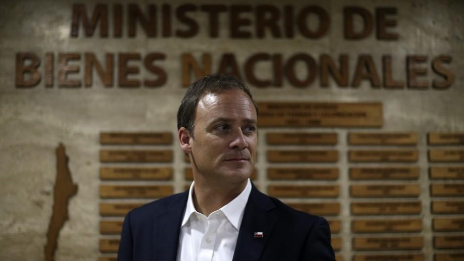 El ministro Felipe Ward.