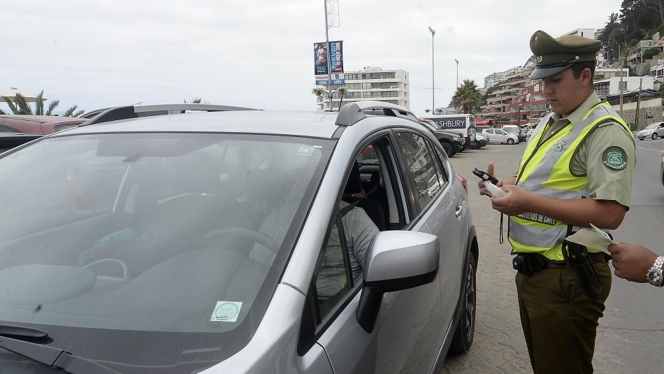Sujeto es detenido tras intentar sobornar a carabinero con 40 mil pesos