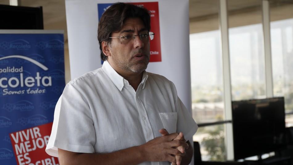 Daniel Jadue asegura que se disculpó con Bachelet:
