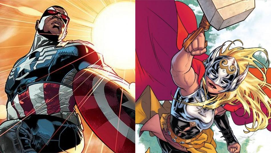 Estos serían los superhéroes que formarían los
