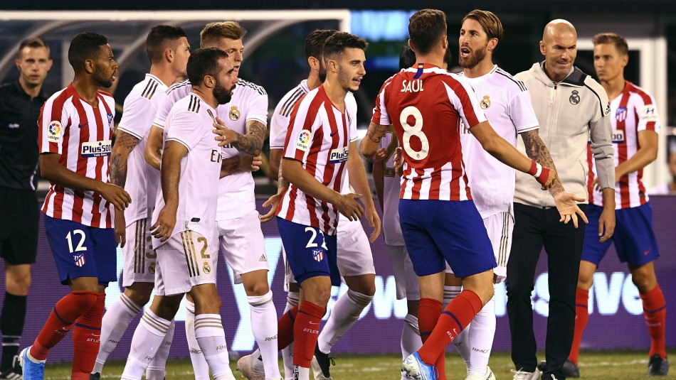 Real Madrid fue humillado por el Atlético.