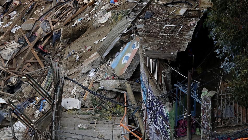 Valparaíso: Ubican con vida a último desaparecido y descartan más víctimas fatales