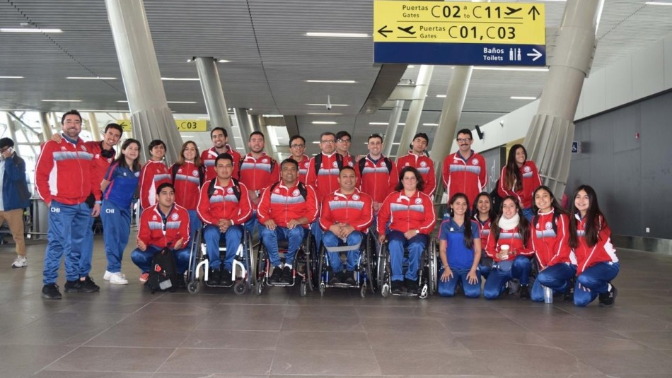 Los 85 deportistas chilenos que estarán en los Juegos Parapanamericanos 2019
