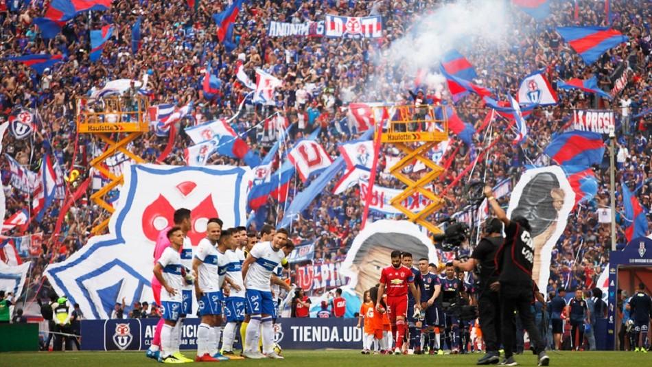 El Clásico Universitario se juega en el Nacional.