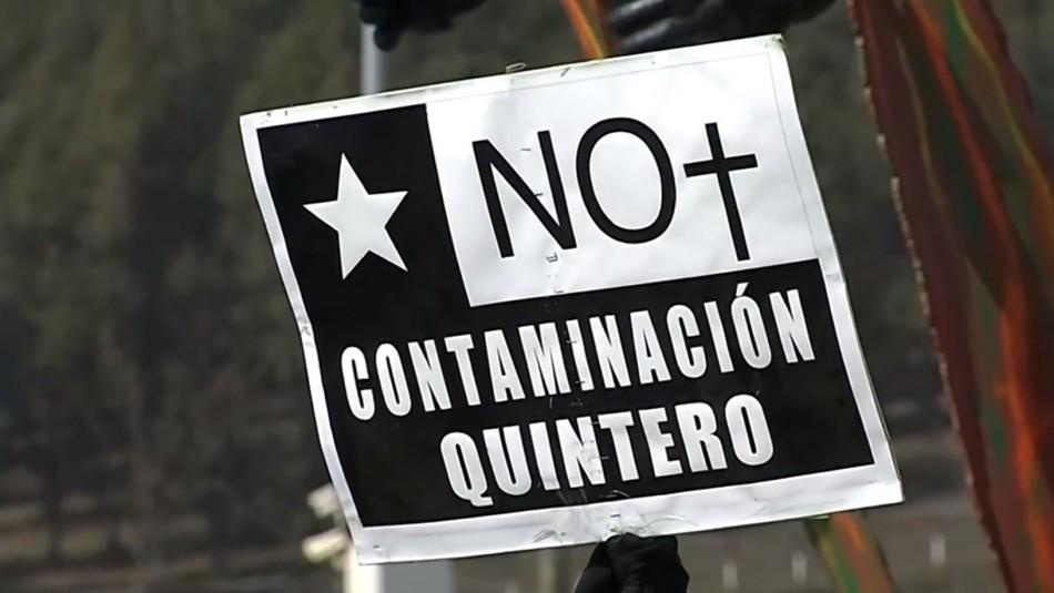 Habitantes de Quintero exigen soluciones inmediatas por problemas de contaminación