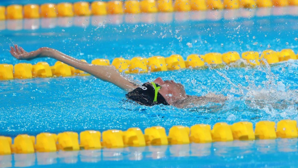 Parapanamericanos: Alberto Abarza brilla en natación y le da el noveno oro a Chile