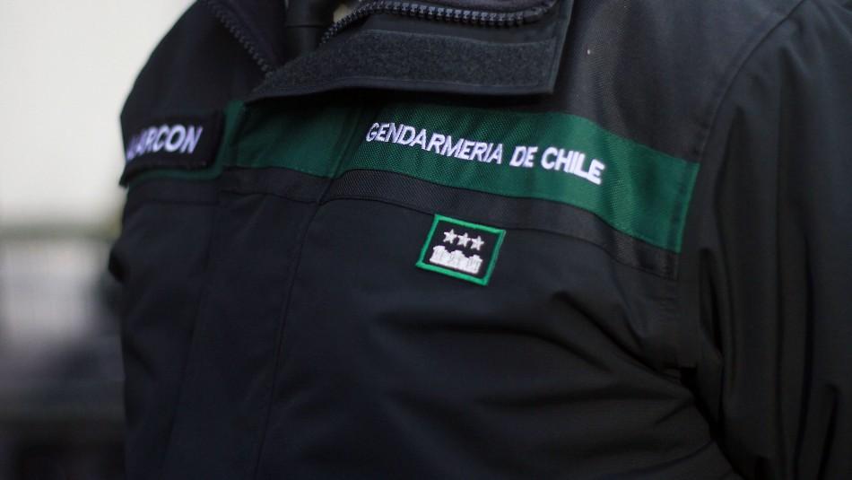 Gendarmería investiga presencia de mujer en