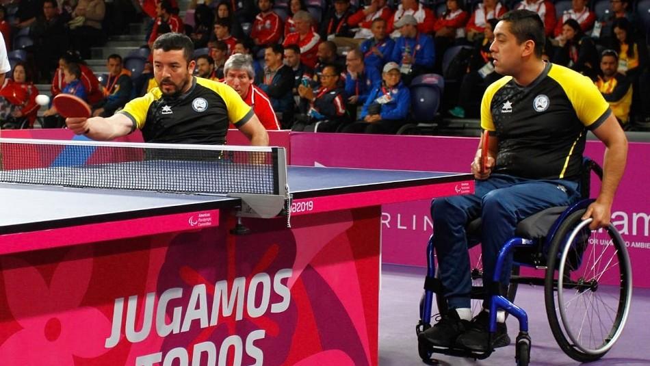 Chile obtiene su octava medalla de oro en tenis de mesa en Juegos Parapanamericanos