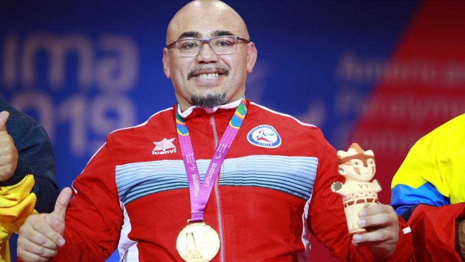 Juan Carlos Garrido logra oro y récord en levantamiento de pesas en Parapanamericanos