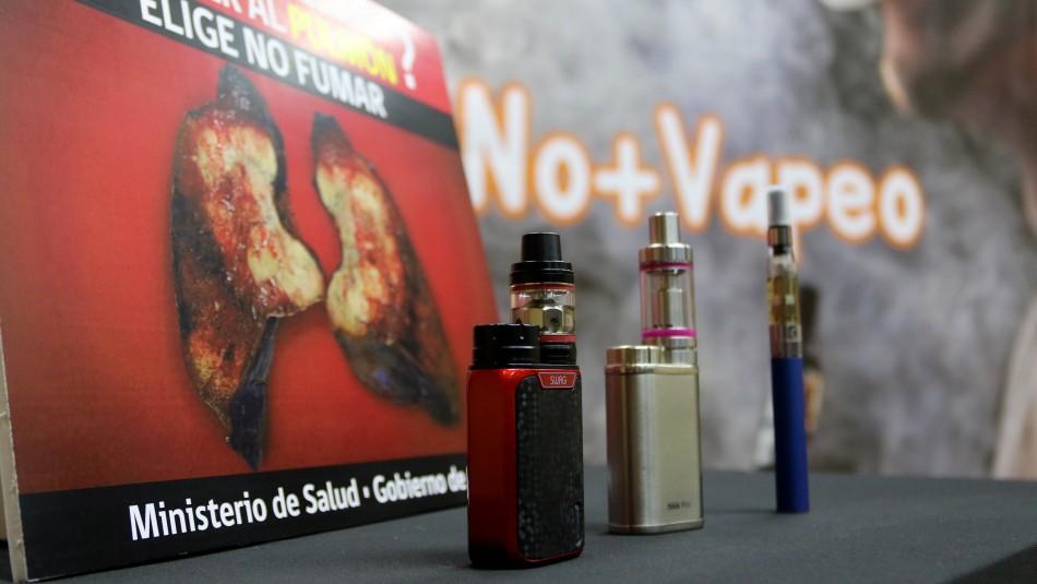 Presentan proyecto para regular uso de vaporizadores y cigarrillos electrónicos