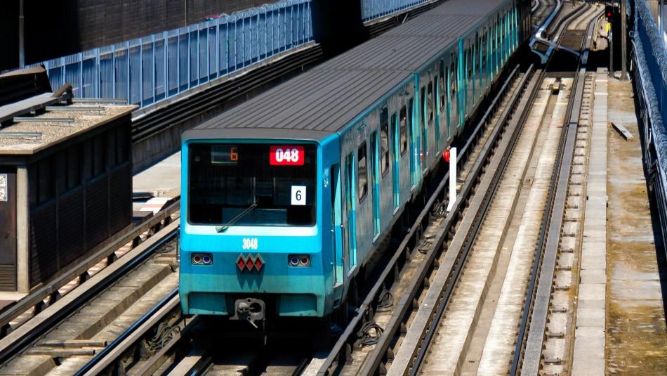 Metro de Santiago extenderá servicio de las líneas 1, 2 y 6 durante Fiestas Patrias
