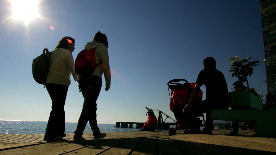Valparaíso totalmente soleado pero con viento: Revisa el pronóstico del tiempo