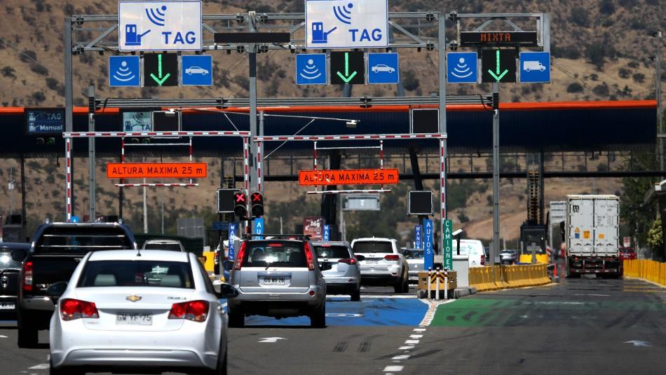 Fiestas Patrias: Llaman a preferir sistema Free Flow ante masiva salida de vehículos