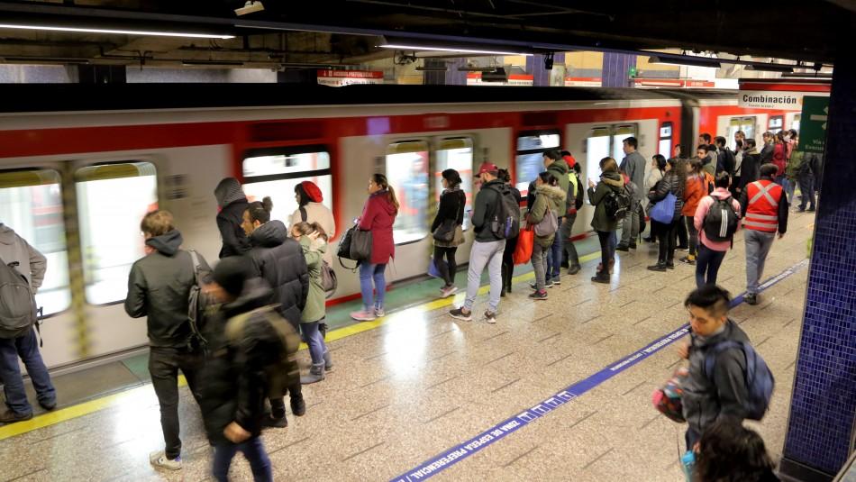 Metro suspende servicio en tramo de la Línea 4 por procedimiento policial