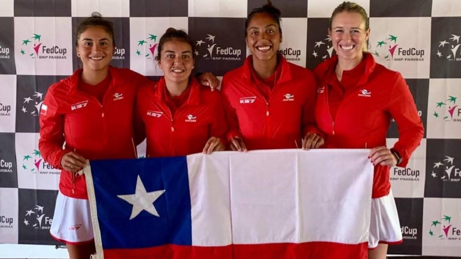 Chile recibe la Fed Cup.