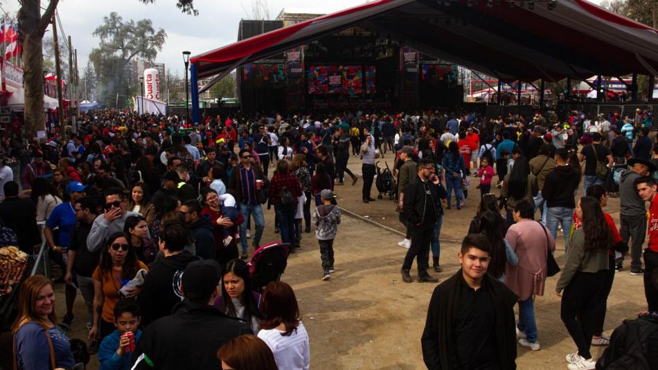 Fiestas Patrias: La Pampilla y Parque O'Higgins reúnen a más de 300 mil personas