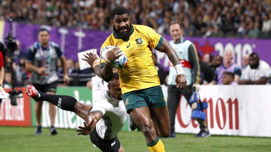Australia dio vuelta el partido y venció a Fiyi en Mundial de Rugby