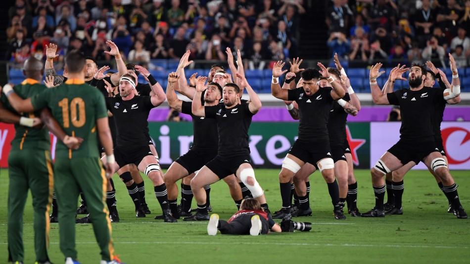 Mundial de Rugby: Haka de Nueva Zelanda marcó el triunfo de ese país sobre Sudáfrica