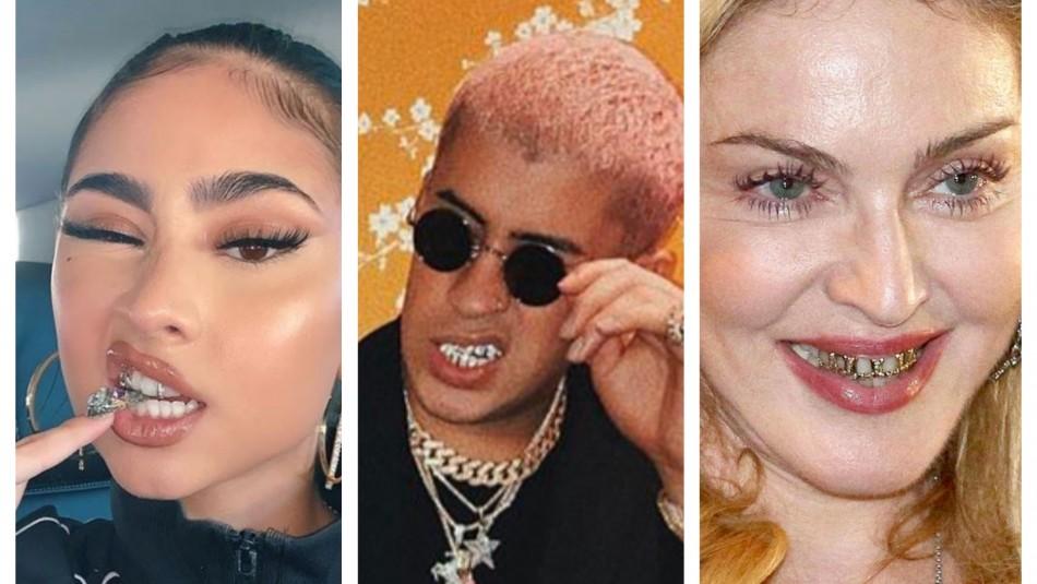 Dientes de lujo: Los famosos que han impuesto la tendencia que sigue Paloma Mami