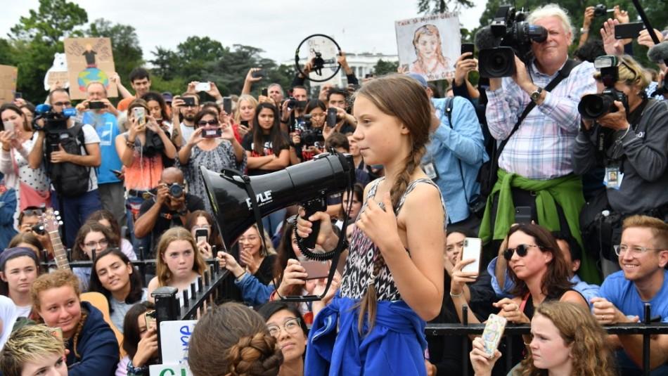Sebastián Piñera confirma que Greta Thunberg aceptó viajar a Chile para la COP25