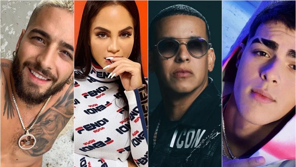Estos son los reggaetoneros que criticaron la lista de nominados de los Latin Grammy