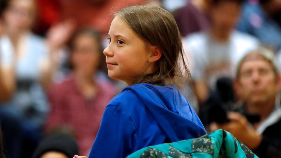 Investigan muñeco con el rostro de Greta Thunberg colgado en un puente de Roma