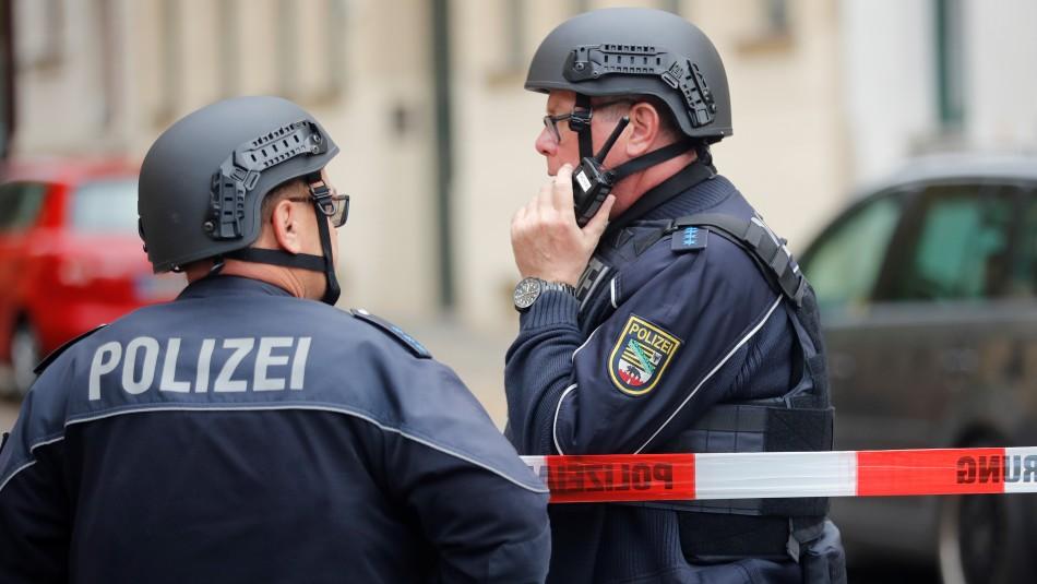 Dos muertos deja tiroteo en plena calle en la ciudad alemana de Halle
