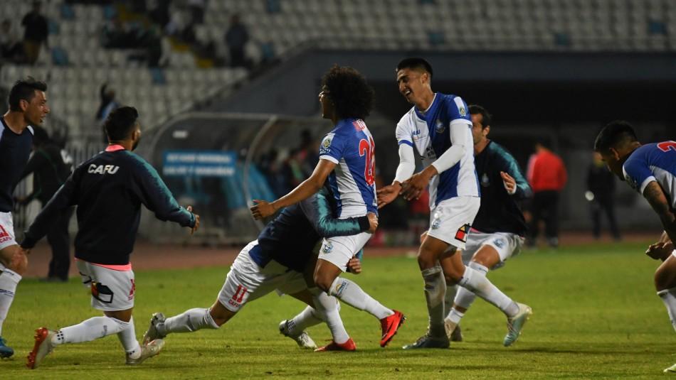 Así está la Tabla de Posiciones: Antofagasta consiguió victoria clave ante Audax Italiano