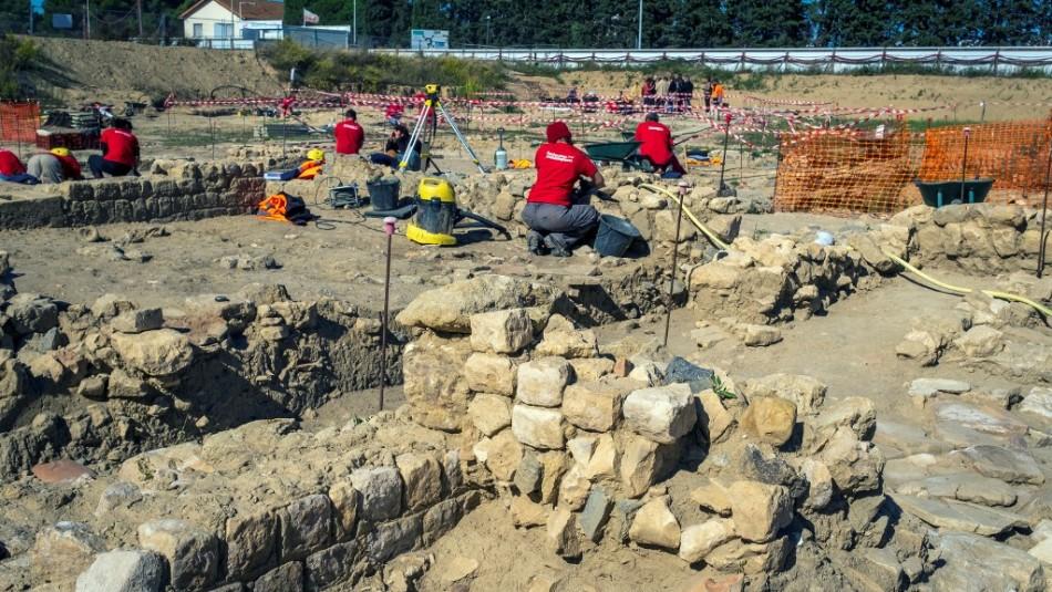 Hasta mil tumbas: El gran cementerio romano que arqueólogos descubrieron en Francia