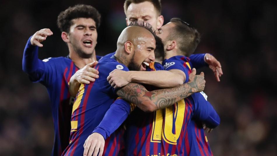Arturo Vidal dejará el Barcelona.