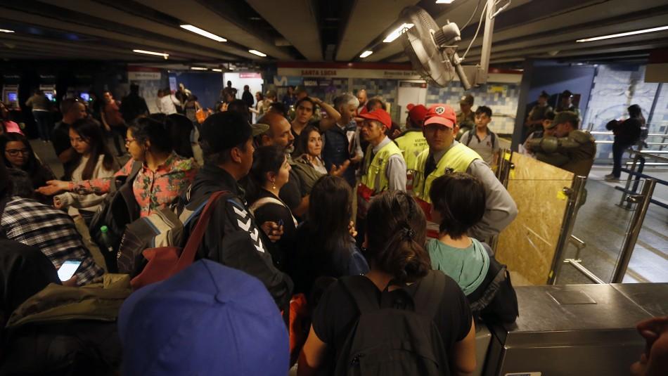 Metro de Santiago: Revisa las estaciones cerradas de cada línea