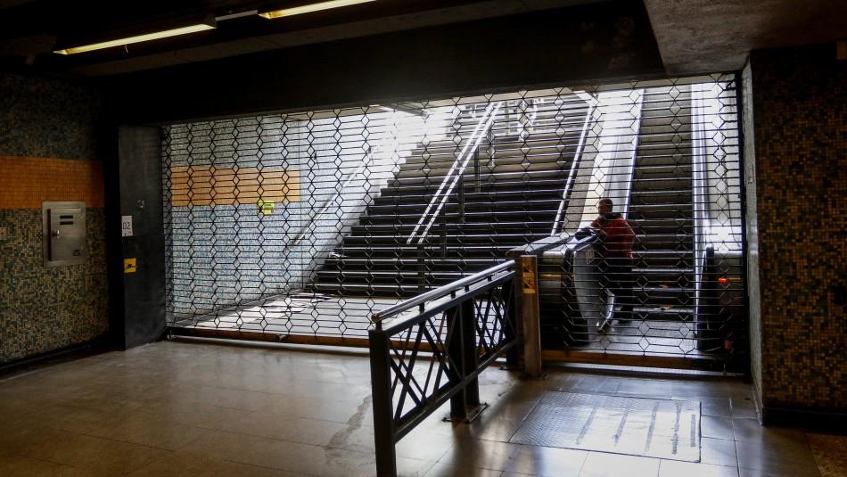Metro confirma que permanecerá cerrado durante todo el fin de semana