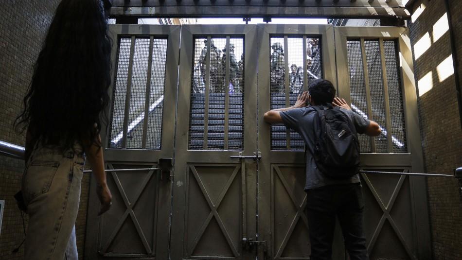 Metro cierra las líneas 1 y 2 de su servicio por no contar con las condiciones mínimas de seguridad