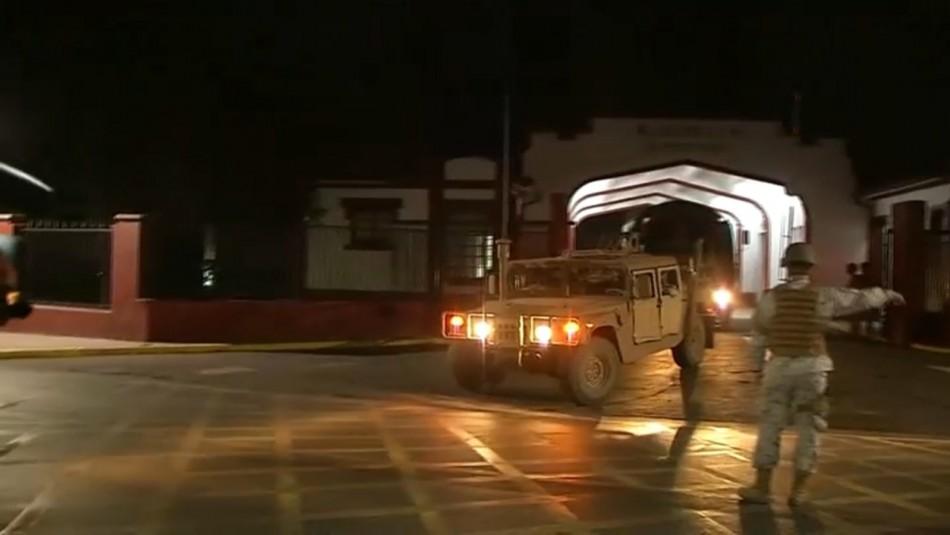 Ejército comienza patrullaje en diversas comunas de Santiago