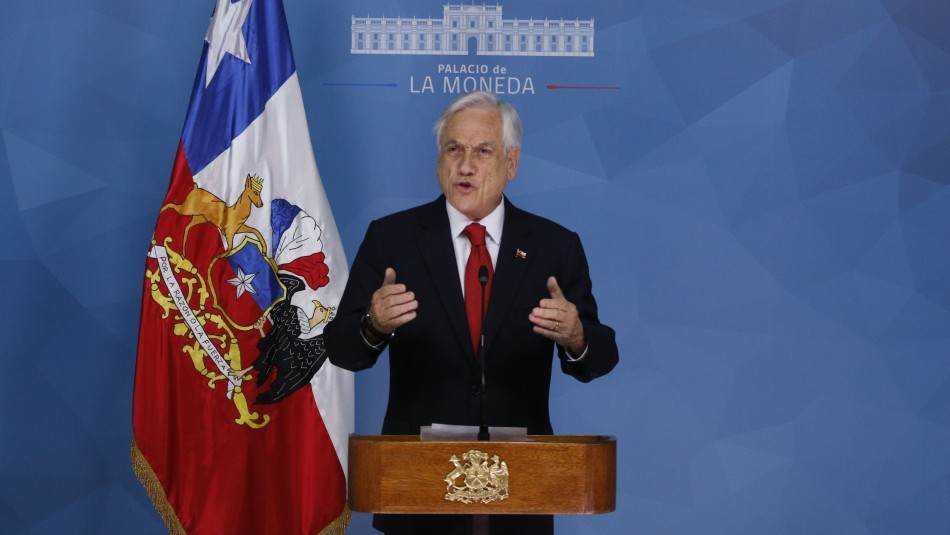 Presidente Piñera decreta estado de emergencia tras jornada de disturbios