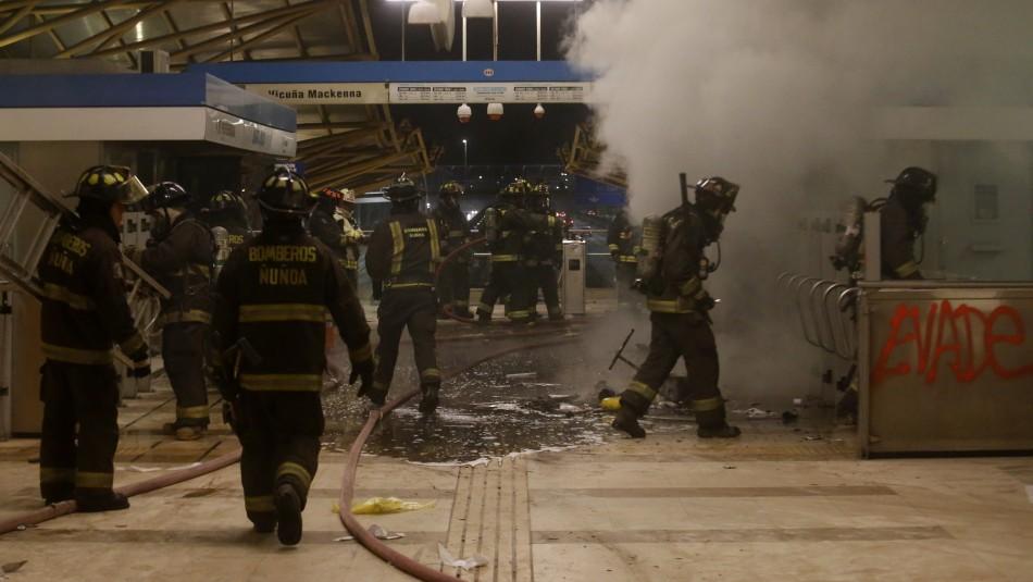 Línea 4A y 5 las más damnificadas: Estas son las estaciones de Metro afectadas por disturbios