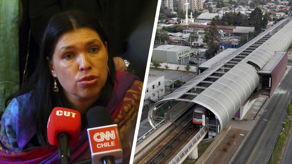 Bárbara Figueroa, presidenta de la CUT, criticó al Gobierno