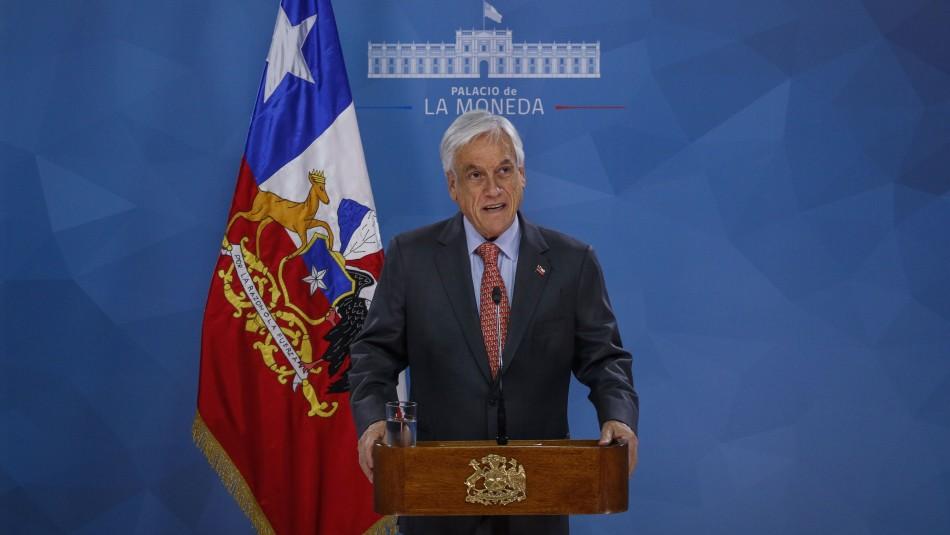 Presidente Piñera: