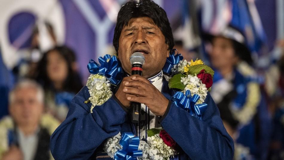 Evo Morales enfrenta unas elecciones difíciles y la oposición pide un voto castigo