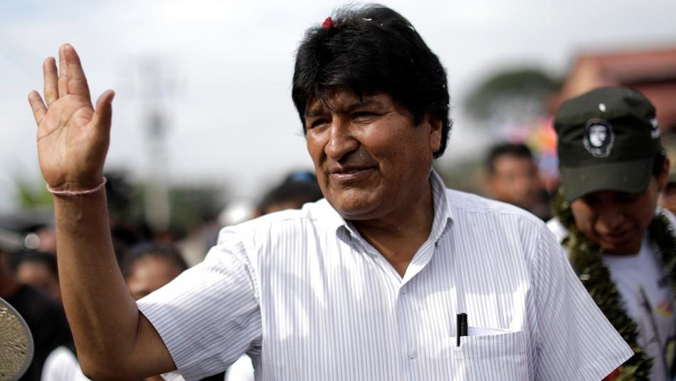Evo Morales encabeza las elecciones pero va a segunda vuelta con Carlos Mesa