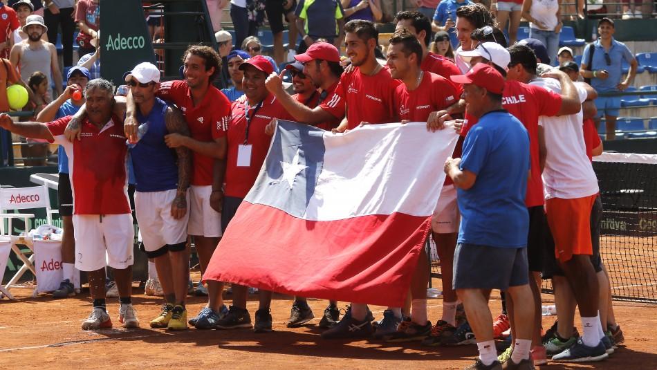 El fixture de Chile en Copa Davis.