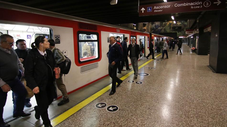 Metro informa las estaciones de la Línea 1 que se encuentran cerradas