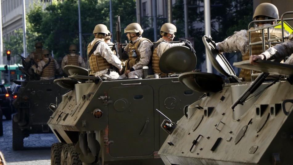 Protestas en Chile: Gobierno confirma que personal militar está involucrado en cuatro muertes
